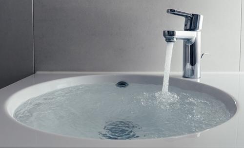 Slow Draining Sink