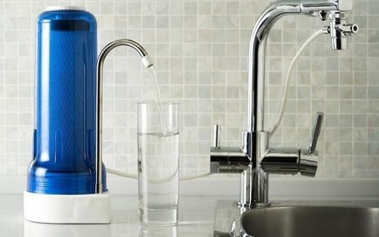 Cryptosporidium - water filter
