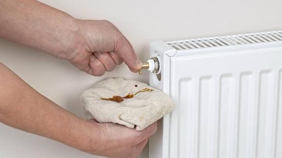 boiler pressure - drain radiators